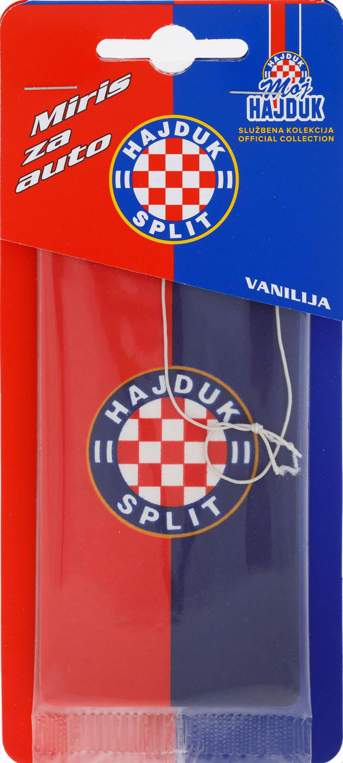 "Picture of Automiris ""Moj Hajduk"" crveno-plava zastavica"