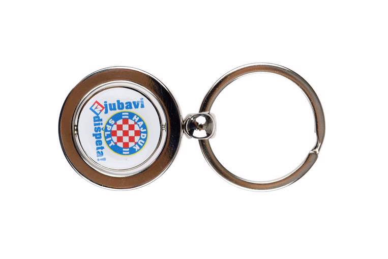 "Picture of Keychain ""Dišpet"" white"
