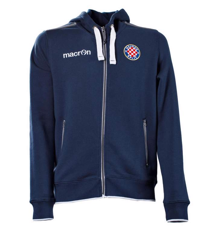 """Picture of Hoodie with zip """"Motown"""" navy blue, Macron 2019"""