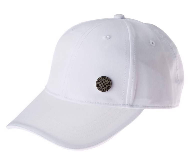 "Picture of Baseball Cap ""Hajduk badge"" white"