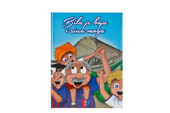 "Picture of Children book ""Bila je boja i sina moga"""