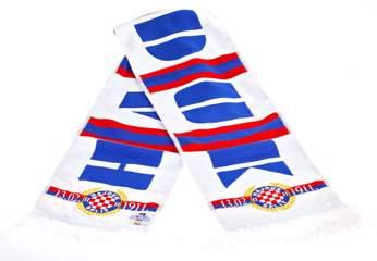 "Picture of Scarf ""Moj Hajduk"" white"