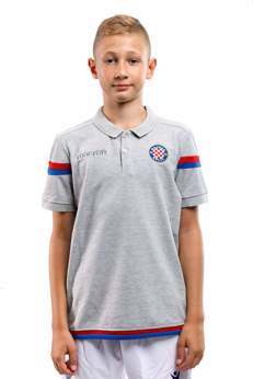 Picture of Polo shirt, JR, grey, Macron 2018