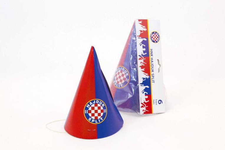 "Picture of Birthday cap ""Hajduk"" red-blue 6/1"