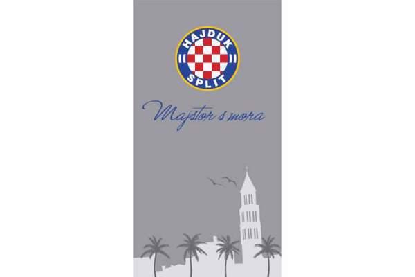 """Picture of Ručnik """"Majstor s mora"""" sivi 80*150 cm"""
