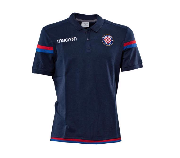 Picture of Polo shirt, SR, navy blue, Macron 2018