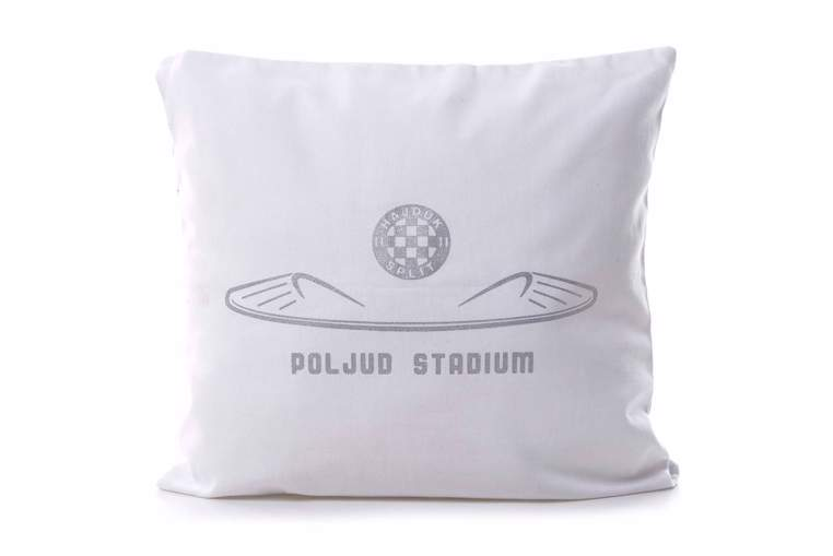 """Picture of Decorative pillow """"Poljud"""" white"""