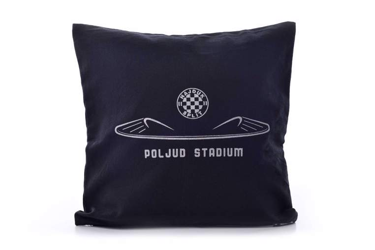 "Picture of Decorative pillow ""Poljud"" black"