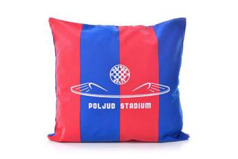 """Picture of Decorative pillow """"Poljud"""" red-blue"""