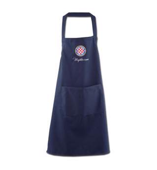 "Picture of Apron ""Majstor s mora"" navy blue"