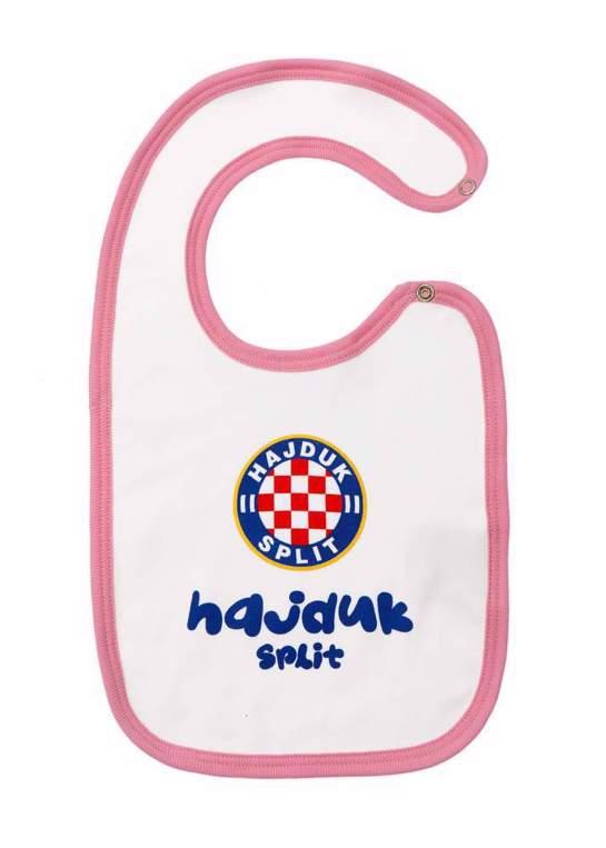 "Picture of Bib ""Hajduk"" pink"