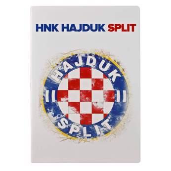 """Picture of Bilježnica """"Grb Hajduk Split"""" A4 crte"""
