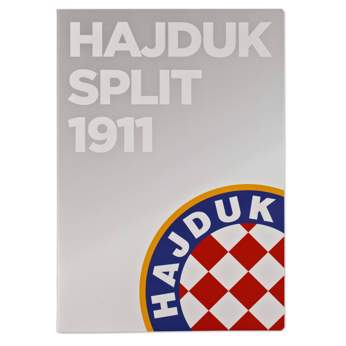 "Picture of Notebook ""HNK Hajduk Split 1911, gray"" A4 squares"