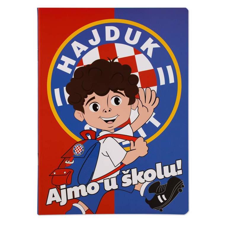 """Picture of Bilježnica """"Rico crveno-plava"""" A5 crte"""