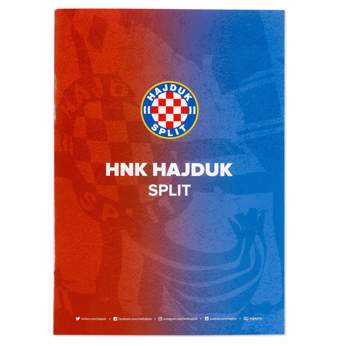 "Picture of Writing pad ""Hajduk"" squares"