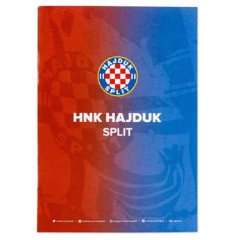 """Picture of Blok bilježnica """"Hajduk"""" kvadratići"""