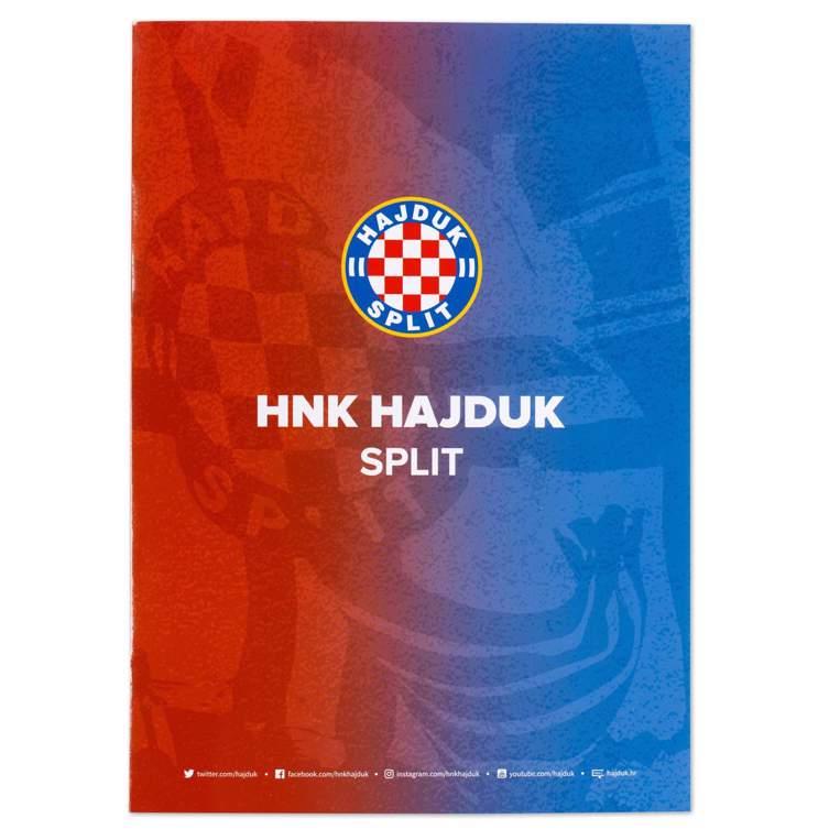 "Picture of Writing pad ""Hajduk"" squares"