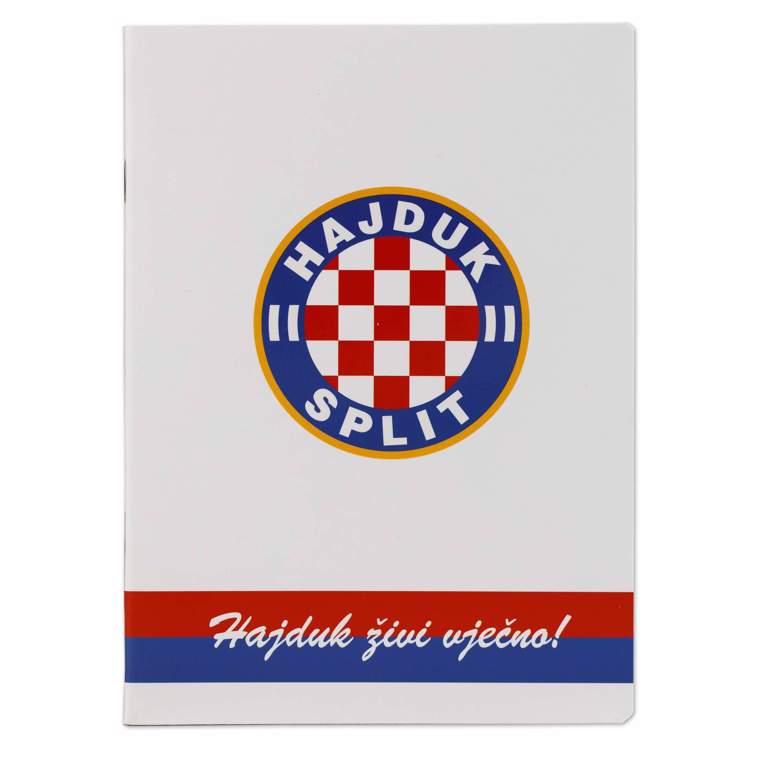 """Picture of Notebook """"Hajduk živi vječno"""" A5 lines"""