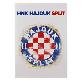 "Picture of Notebook ""Grb Hajduk Split"" A4 squares"