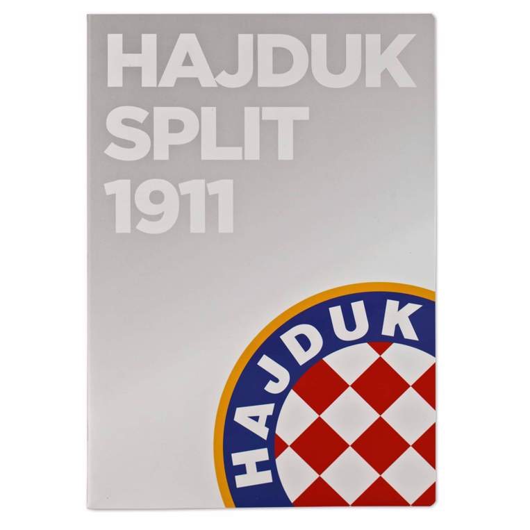 "Picture of Notebook ""HNK Hajduk Split 1911, gray"" A4 lines"