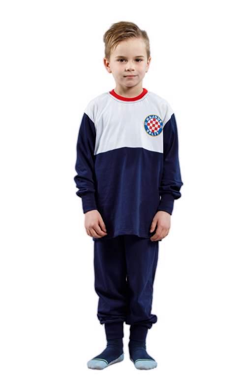 """Picture of Pidžama dječja """"Grb"""" bijelo-modra 10 do 14 godina"""