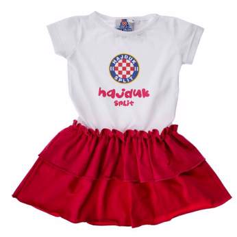"""Picture of Dječja haljina """"Hajduk Split"""" pink"""