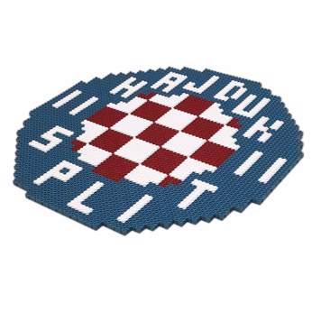 Picture of Set plastičnih kockica Hajduk grb 2D/3D