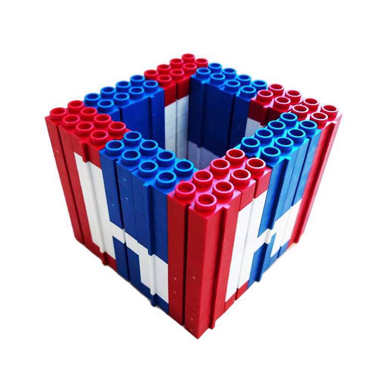 Picture of Set plastičnih kockica Držač za olovke Hajduk