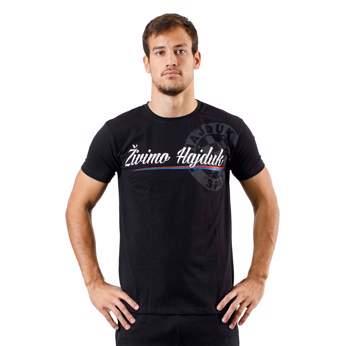 """Picture of  T-shirt """"Živimo Hajduk"""" black"""