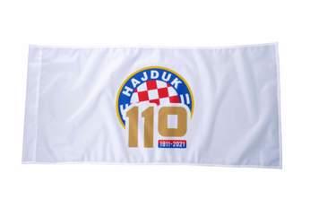Picture of ZASTAVA 110 GODINA BIJELA 100*50